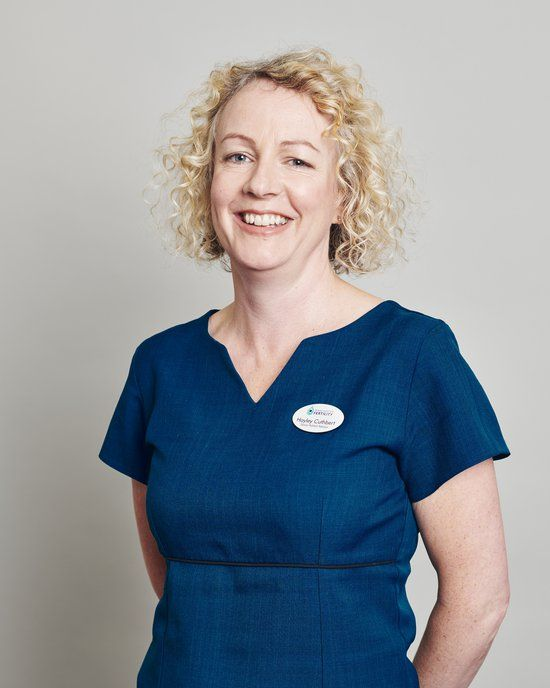 Hayley Cuthbert - In Patient Manager