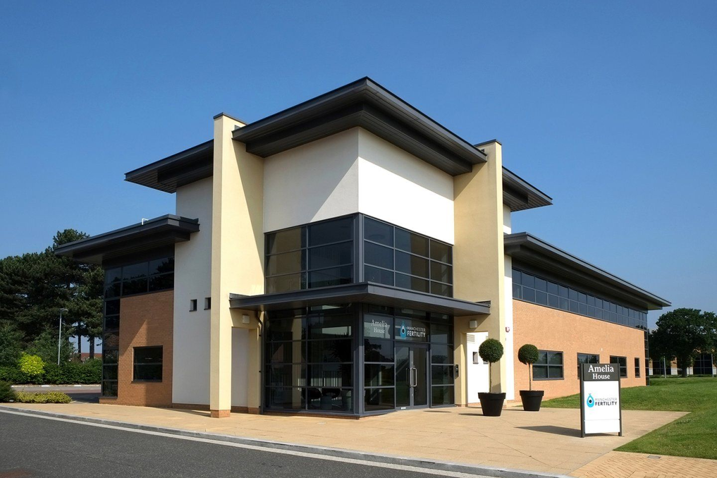 Our state-of-the-art fertility clinic at Cheadle Royal